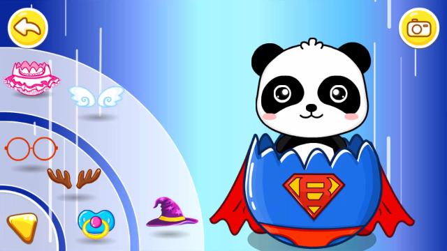 宝宝巴士绘画启蒙 可爱熊猫宝宝能hold住这些呆萌造型吗