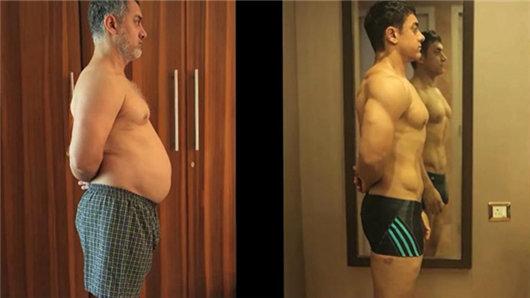 【摔跤吧!爸爸】印度神剧男神阿米尔·汗拍电影时身材大蜕变的纪录片