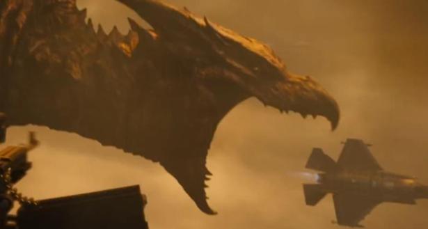 【哥斯拉2:怪兽之王】哥斯拉基多拉对喷射线