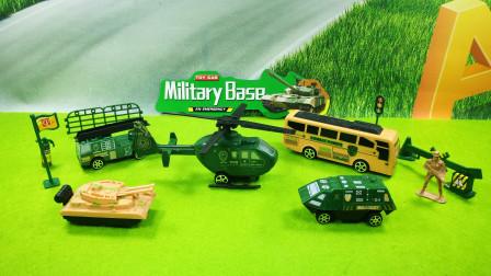 军事部队场景模拟玩具分享