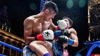 韩国拳王在擂台嚎叫挑衅