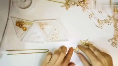 入鬓香发簪:专属于12星座的白羊座古风发簪,好美啊!