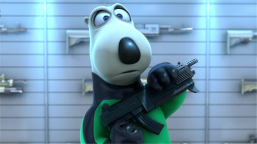 【倒霉特工熊】定档1月13日 憨熊变特工逆袭拯救世界
