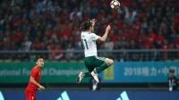中国男足0-6威尔士