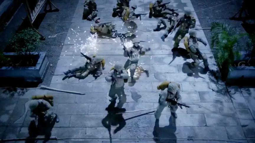 殊死七日:鬼子夜袭共军基地,怎料中了埋伏,这下让鬼子有来无回