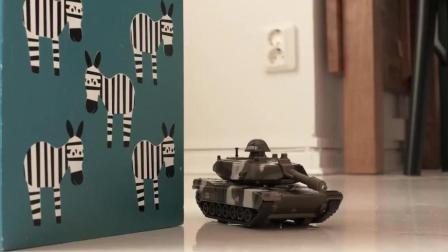 远古白垩纪恐龙重现 现代化军事武器 坦克飞机大战 霸王龙 玩具故事