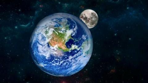 月球一天是地球的多少天?科学家给出答案,原来月球被地球拖累了