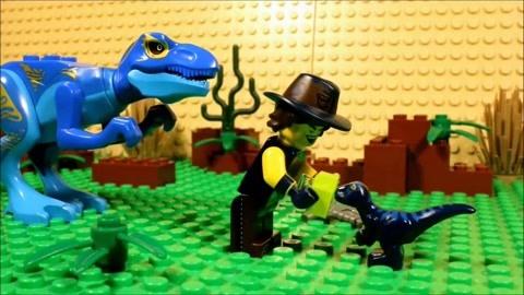 乐高大电影侏罗纪世界游客