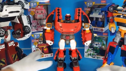 Tobot变形金刚与第14次Zorob 冒险周边汽车玩具