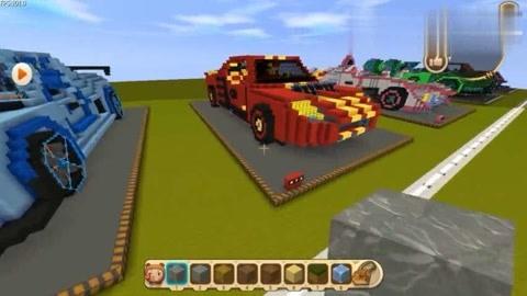 迷你世界:十二星座之超级跑车!每一辆都是豪车