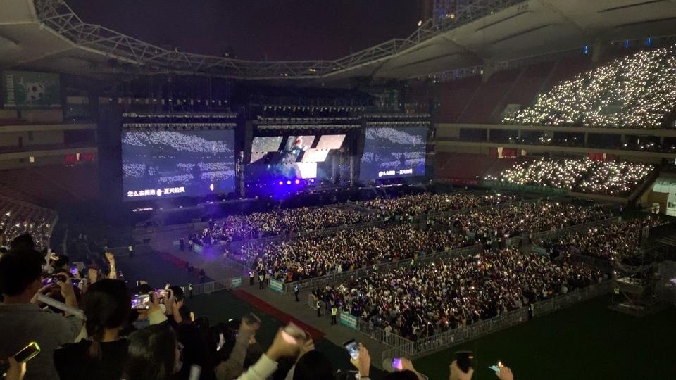 """五月天""""2019just rock it""""上海演唱会尾场"""
