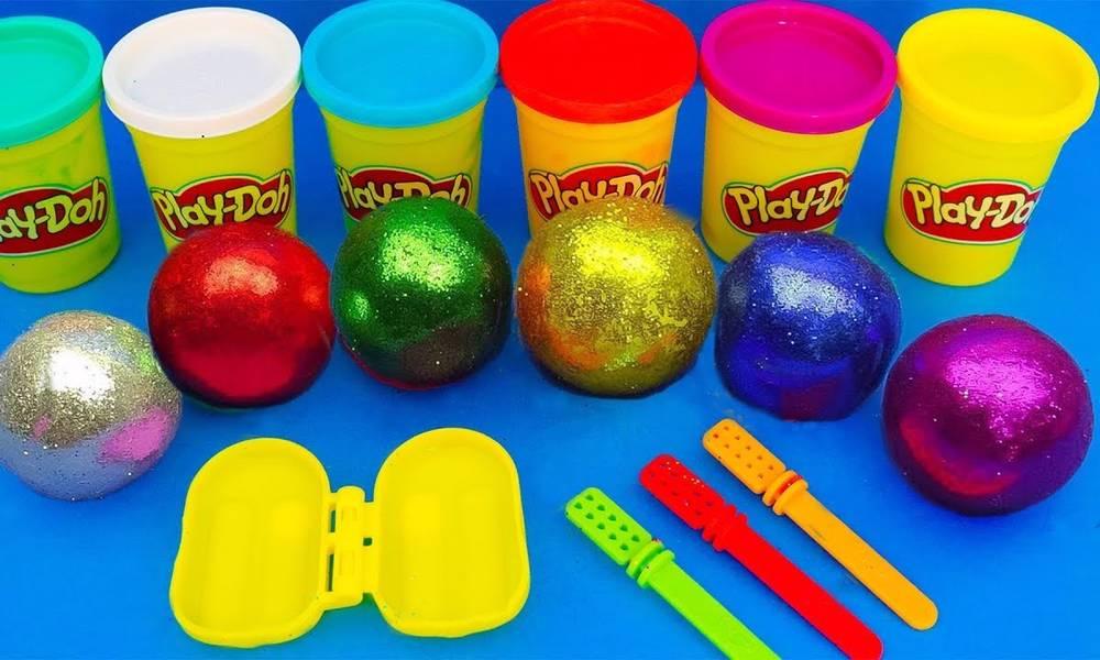 培乐多彩泥创意DIY水果冰棒,萌宝学习识颜色与数字1-10