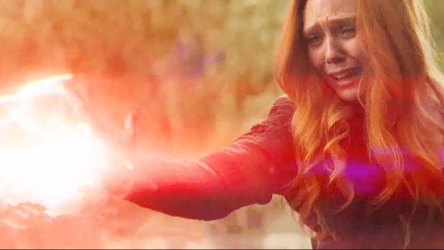 复仇者联盟4:灭霸为摧毁宝石成废人,为何绯红女巫毫发无损