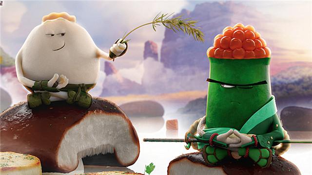 【美食大冒险之英雄烩】国际预告 外国人最爱的功夫美食动画