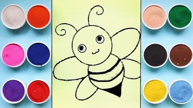 启蒙绘画:胖蜜蜂能飞起来吗?