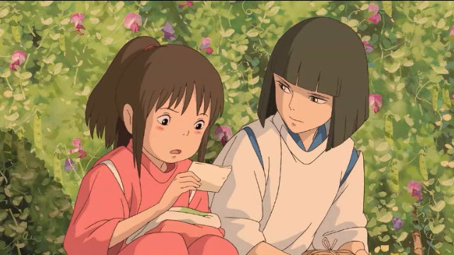 宫崎骏的大成之作《千与千寻》找寻童年的回忆