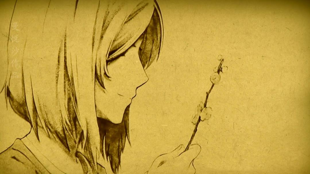 【夏目友人帐】用沙画绘出的温柔