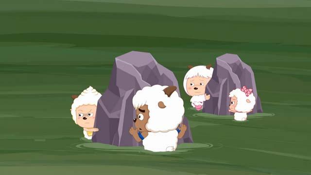 【喜羊羊与灰太狼之深海历险记】全员陷入漩涡 全剧终