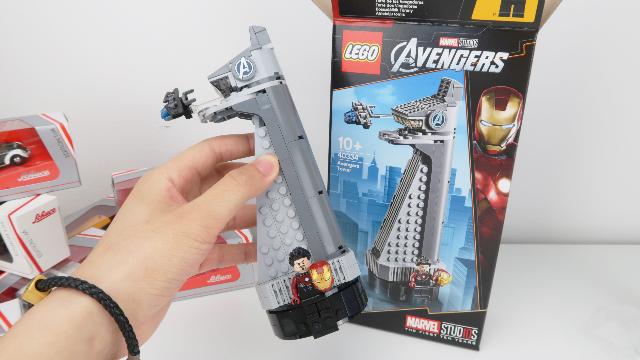 【未知钢铁侠出现】可以单卖却是赠品的乐高复联塔