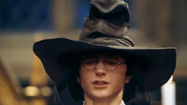 """【哈利·波特与魔法石】""""神奇分院帽"""""""