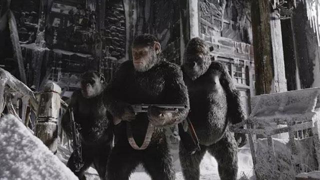 【猩球崛起3:终极之战】年度必看大片强势来袭!系列终章口碑最佳