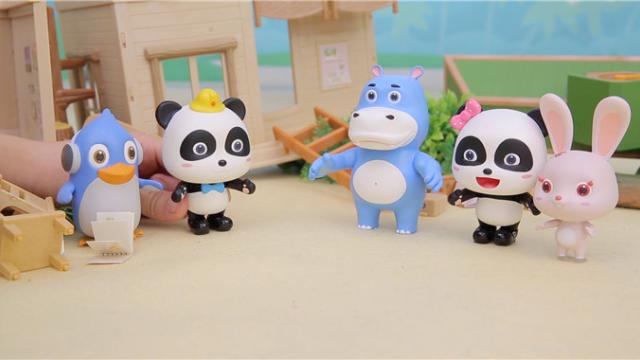 宝宝巴士玩具—奇妙王国地震了,地震了应该怎么办呢