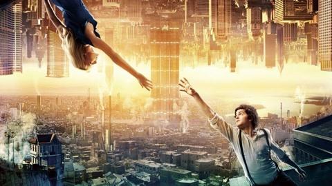 超唯美脑洞电影,颠倒的世界和两个相爱的人,组成了华丽的故事