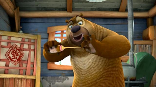 【熊出没之夺宝熊兵】光头强的秘密