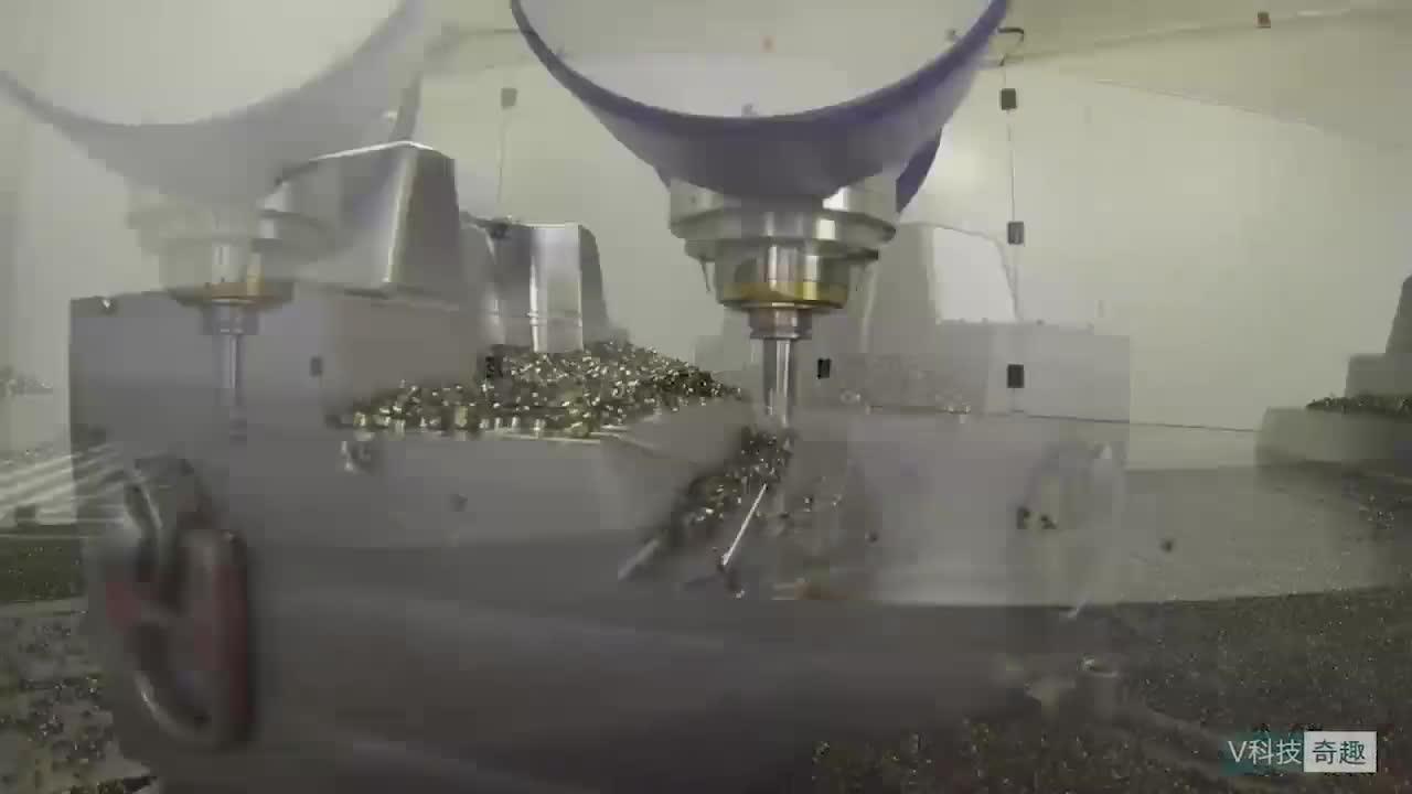 德国制造的数控切割机,削铁就像切白菜一样简单