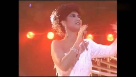甄妮、刘德华合唱《世间始终你好》那时的华仔只是个演员!
